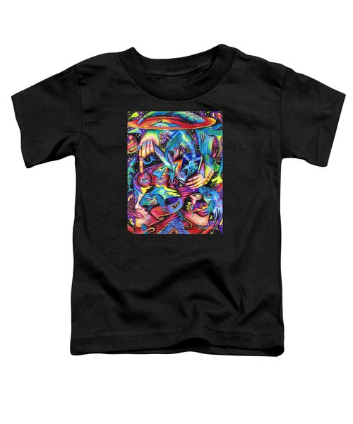 Expansive Dynamics Of The Subconscious Toddler T-Shirt