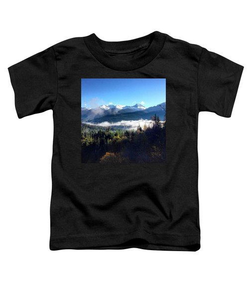 Exploring The Mountains Toddler T-Shirt
