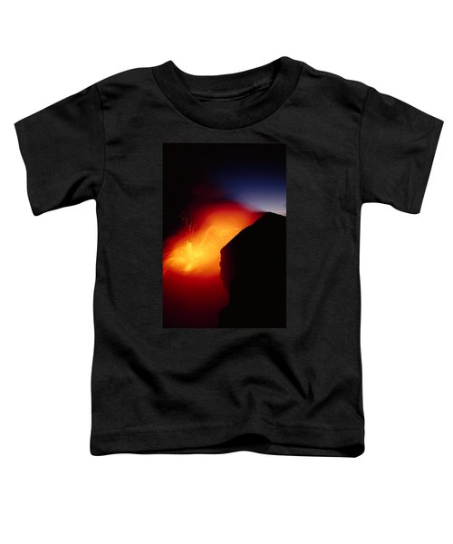 Explosion At Twilight Toddler T-Shirt by William Waterfall - Printscapes