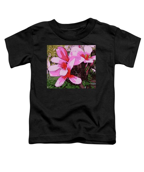 Exuberance Toddler T-Shirt by Winsome Gunning