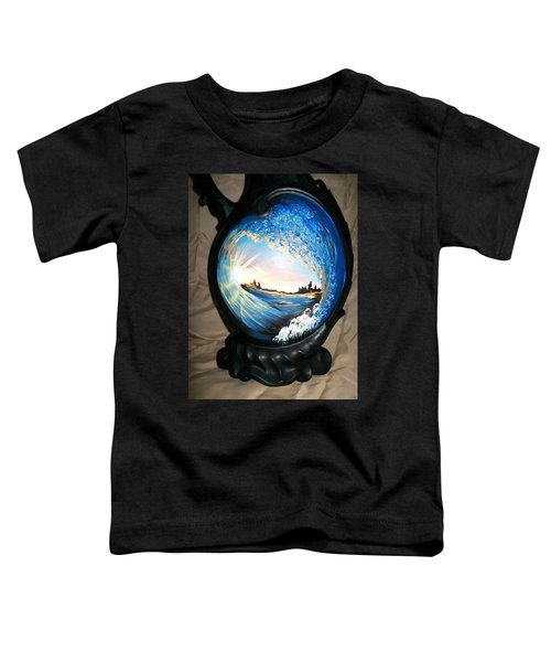 Eye Of The Wave 1 Toddler T-Shirt