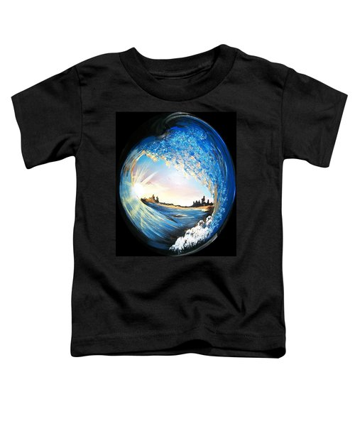 Eye Of The Wave Toddler T-Shirt