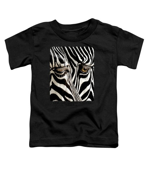 Eyes And Stripes Forever Toddler T-Shirt