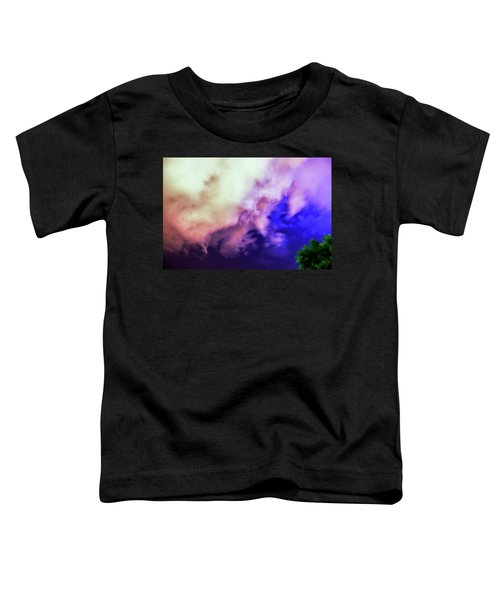 Faces In The Clouds 002 Toddler T-Shirt
