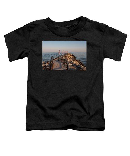 Fairfield Fishing Pier Toddler T-Shirt