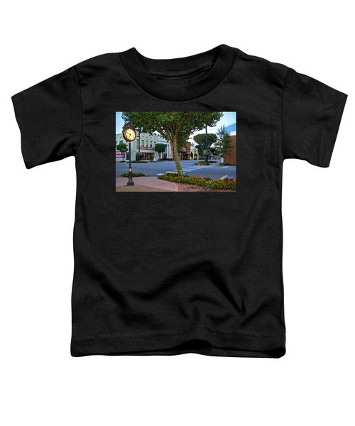 Fairhope Ave With Clock Toddler T-Shirt