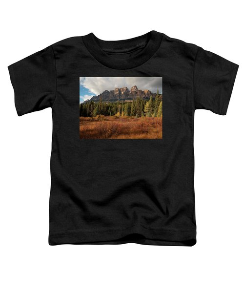 Fall At Castle Mountain Toddler T-Shirt