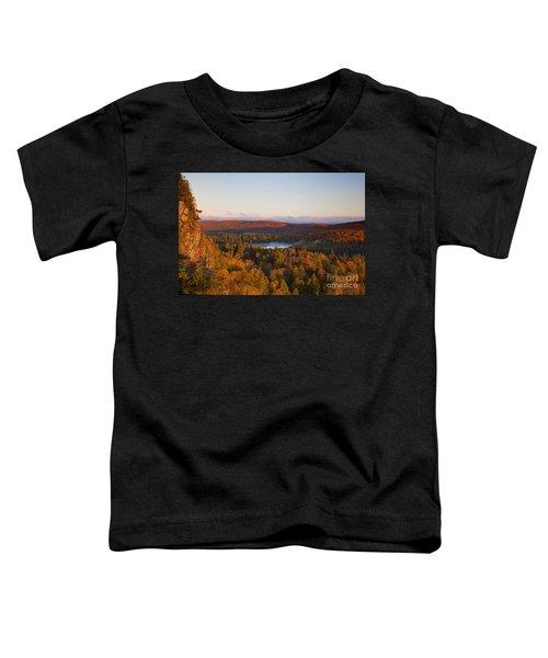 Fall Colors Orberg Mountain North Shore Minnesota Toddler T-Shirt