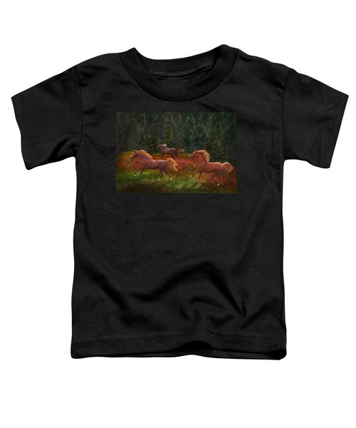 Fall Dancers Toddler T-Shirt