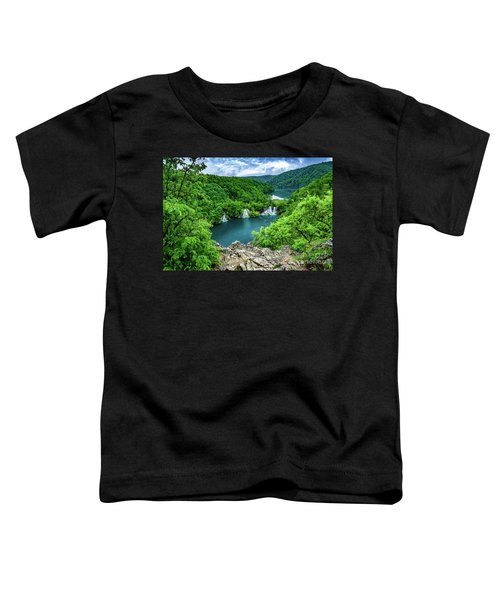 Falls From Above - Plitvice Lakes National Park, Croatia Toddler T-Shirt