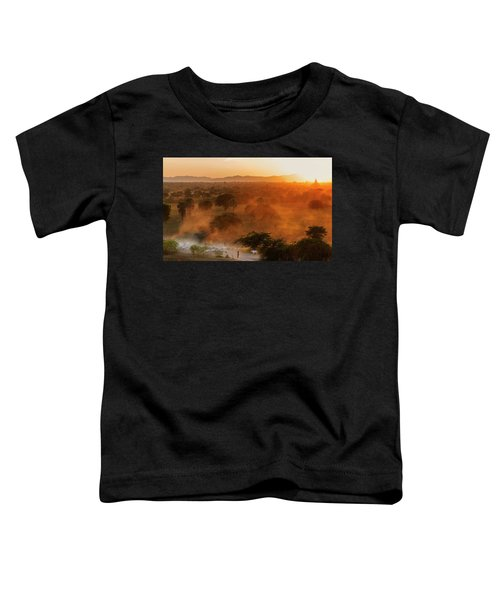 Farmer Returning To Village In The Evening Toddler T-Shirt