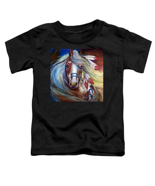Fearless Indian War Horse Toddler T-Shirt