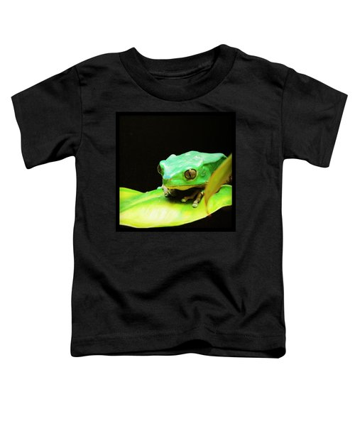 Feeling Froggy Toddler T-Shirt