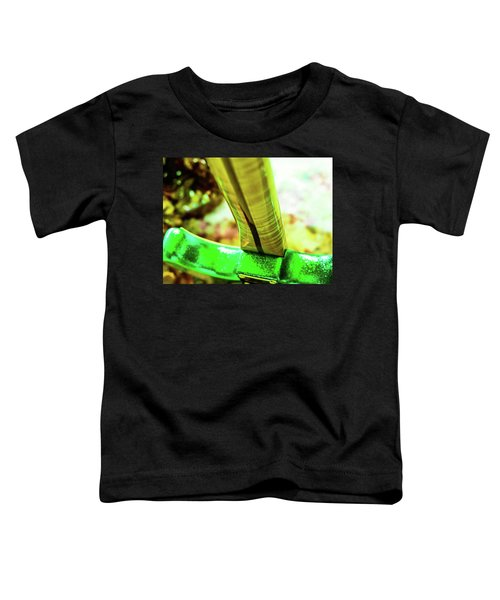 Custom Shop Stratocaster In Rare Green Sparkle Toddler T-Shirt