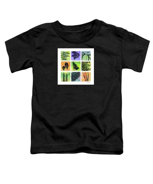 Ferns Of Hawaii Toddler T-Shirt