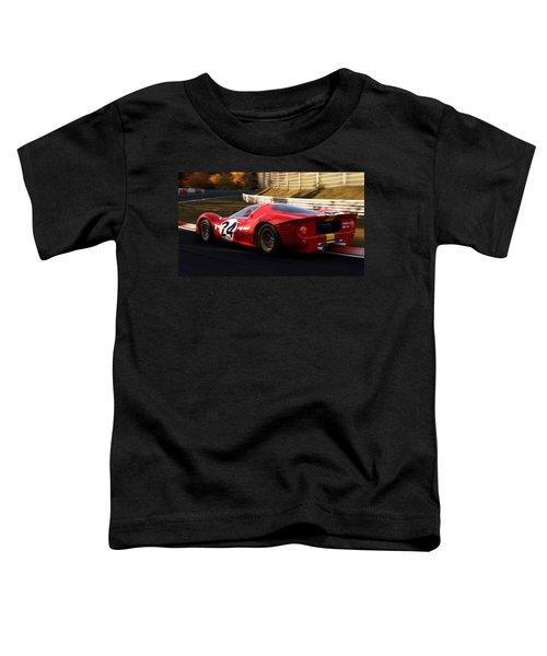 Ferrari 330 P4, Nordschleife - 17 Toddler T-Shirt