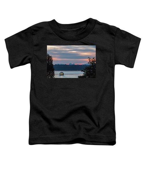 Ferry Tillikum At Dawn Toddler T-Shirt