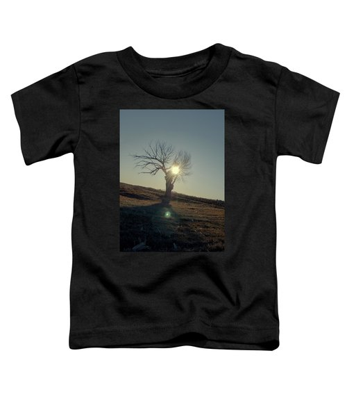 Field And Tree Toddler T-Shirt
