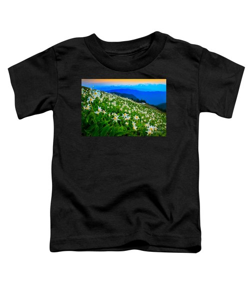 Field Of Avalanche Lilies Toddler T-Shirt