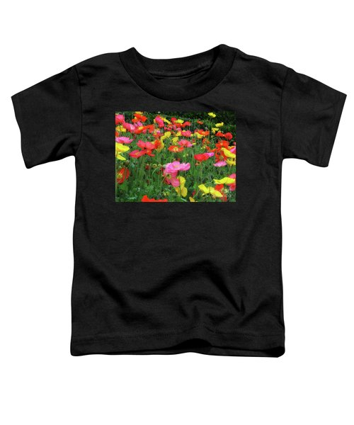 Field Of Poppies Toddler T-Shirt