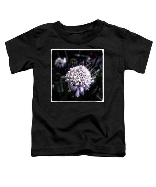 Toddler T-Shirt featuring the photograph Field Scabious. A Member Of The by Mr Photojimsf