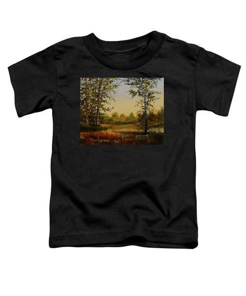 Fields And Trees Toddler T-Shirt