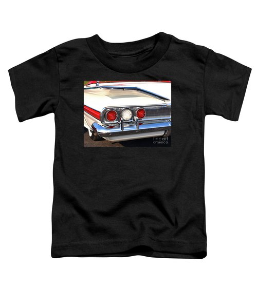 Fins Were In - 1960 Chevrolet Toddler T-Shirt