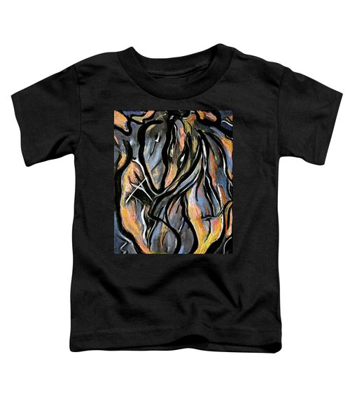 Fire And Stone Toddler T-Shirt