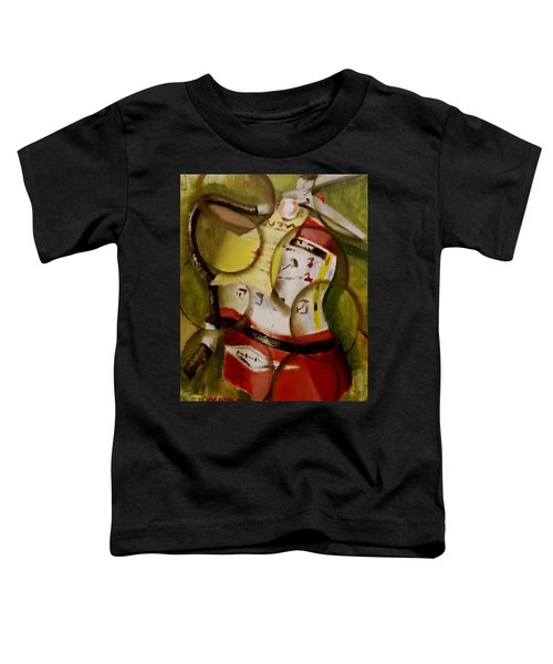 Tommervik Abstract Fire Extinguisher Art Print Toddler T-Shirt