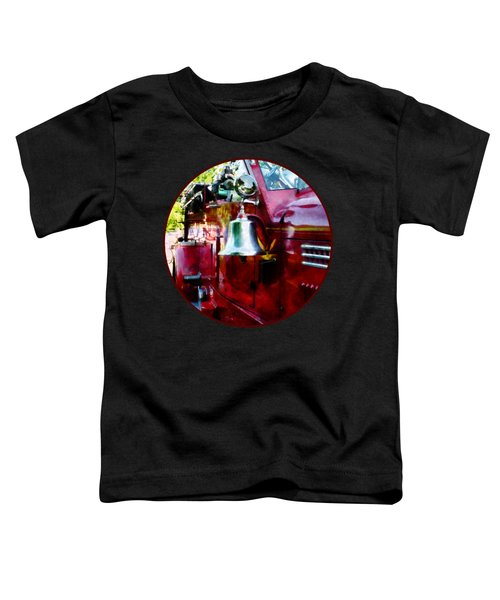 Fireman - Bell On Fire Engine Toddler T-Shirt