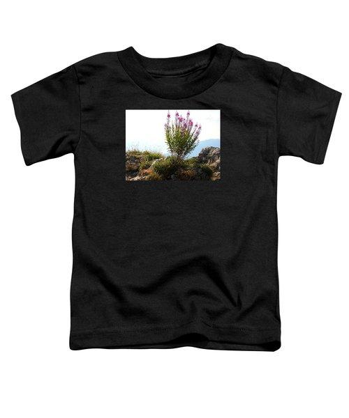 Fireweed Epilobium Angustifolium Toddler T-Shirt