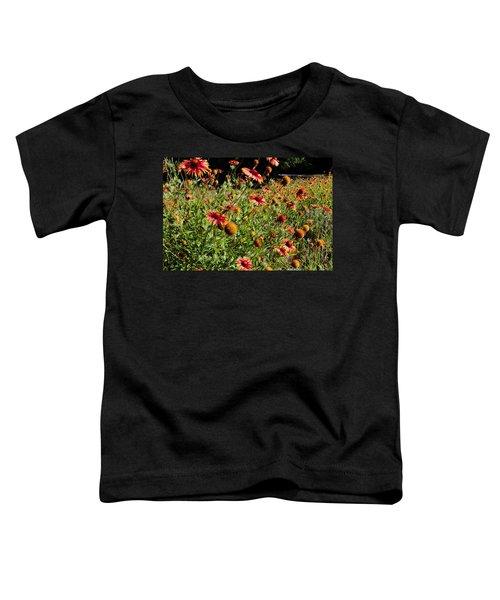 Firewheel Wildflower Toddler T-Shirt