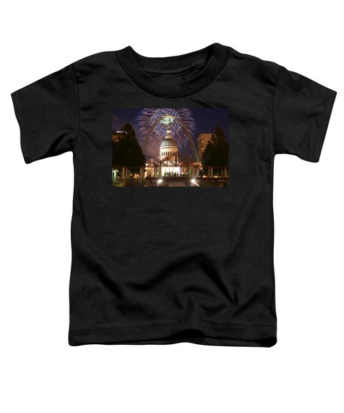 Fireworks At The Arch 1 Toddler T-Shirt