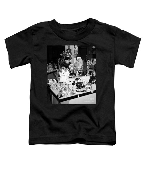 First Lady Eleanor Roosevelt And Santa Toddler T-Shirt