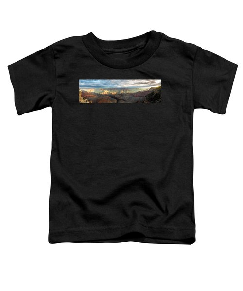 First Light In The Canyon Toddler T-Shirt