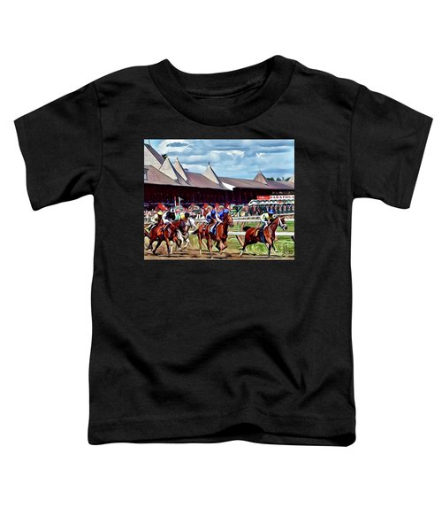 First Turn Saratoga Toddler T-Shirt