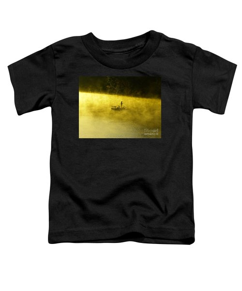 Fishing The Prettyboy Reservoir Toddler T-Shirt