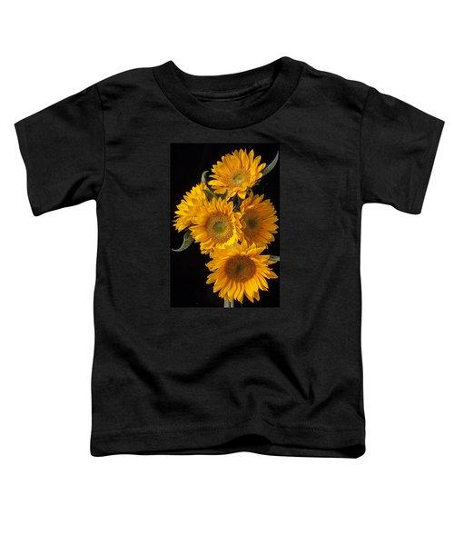 Five Sunflowers Toddler T-Shirt