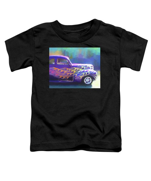 Flamed 1940 Ford Toddler T-Shirt
