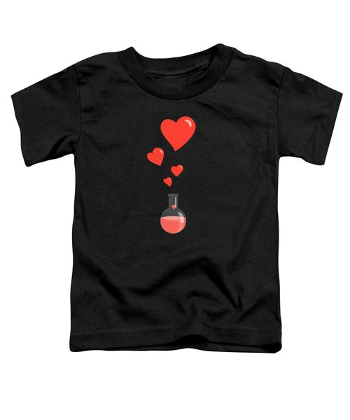 Flask Of Hearts Toddler T-Shirt