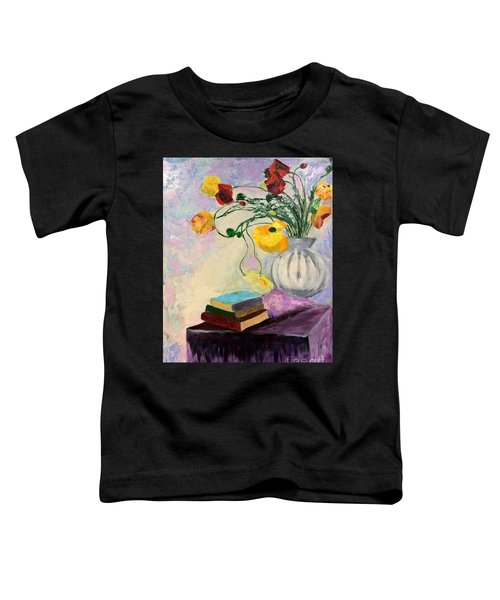 Floral Abstract Toddler T-Shirt