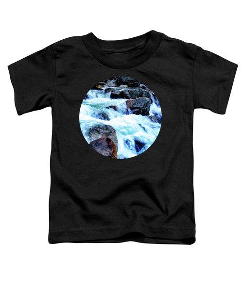 Flow Toddler T-Shirt by Adam Morsa