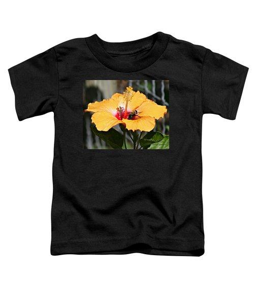 Flower Bee Toddler T-Shirt