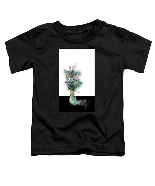 Flower Study One Toddler T-Shirt