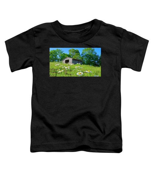 Flowering Hillside Meadow Toddler T-Shirt