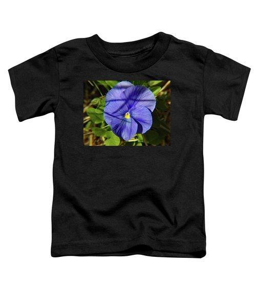 Flowering Pansy Toddler T-Shirt