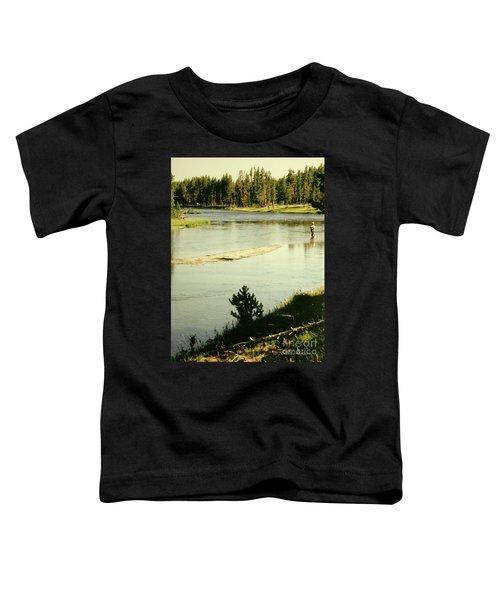 Fly Fishing Toddler T-Shirt