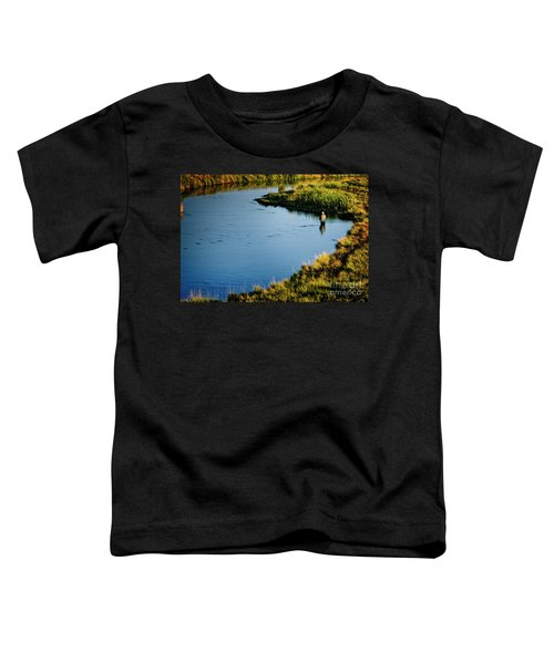 Fly Fishing  Toddler T-Shirt