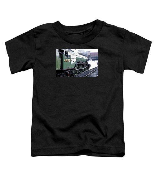 Flying Scotsman Locomotive Toddler T-Shirt