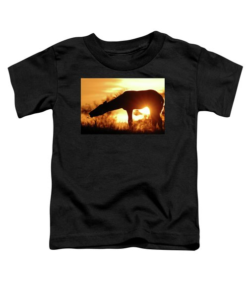 Foal Silhouette Toddler T-Shirt